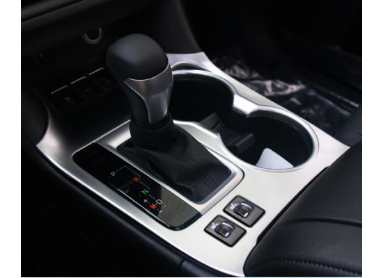 Накладка на центральную панель управления для Toyota Highlander 3 2016-н.в. (фото)