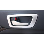 Накладки на рамки внутренних ручек для Toyota Highlander 3 2016-н.в.