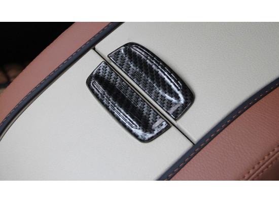 Накладки на ручки подлокотника для Toyota Highlander 3 2016-н.в. (фото)