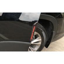 Защитные накладки на двери и зеркала для Toyota Highlander 3 (фото)