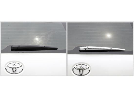 Хромированная накладка на заднюю щетку для Toyota Land Cruiser 200 2007-н.в. (фото)