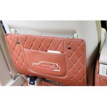 Кожаные защитные накладки на спинки передних сидений для Toyota Land Cruiser 200 2007-н.в. (фото)