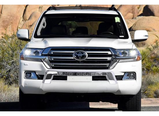 Обвесы на бампера для Toyota Land Cruiser 200 Рестайлинг 2 2015-н.в.