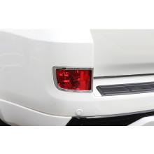Накладки на задние противотуманки для Toyota Land Cruiser 200 Рестайлинг 2 2015-н.в. (фото)