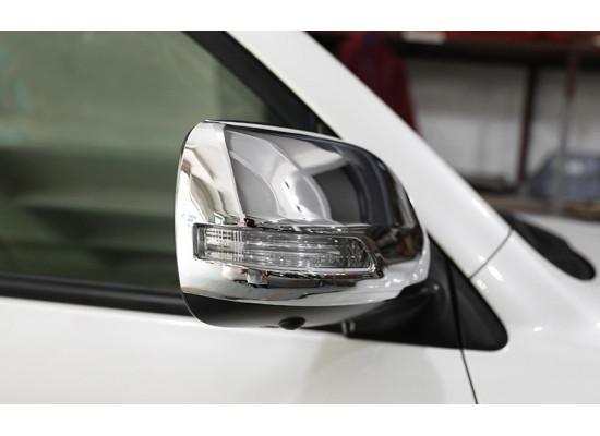 Накладки на зеркала для Toyota Land Cruiser 200 2007-н.в. (фото)