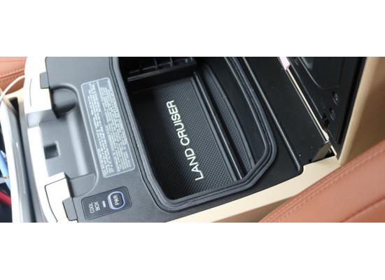 Ящик под мелочь подлокотник из нержавещей стали для Toyota Land Cruiser 200 2005-н.в.