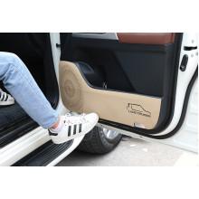 Кожаные защитные накладки на двери для Toyota Land Cruiser 200 2007-н.в. (фото)