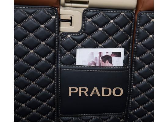 Кожаная обшивка багажника для 5/7 мест Toyota Land Cruiser Prado 2009-н.в. (фото)