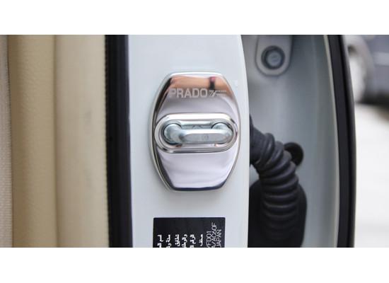 Накладки на фиксаторы замков для Toyota Land Cruiser Prado 2009-по н.в.