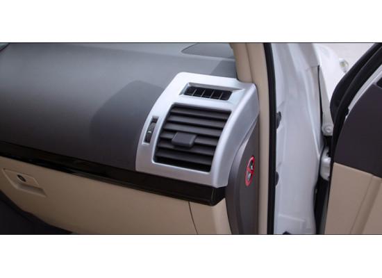 Накладки на передние воздуховоды для Toyota Land Cruiser Prado 2009-по н.в (фото)