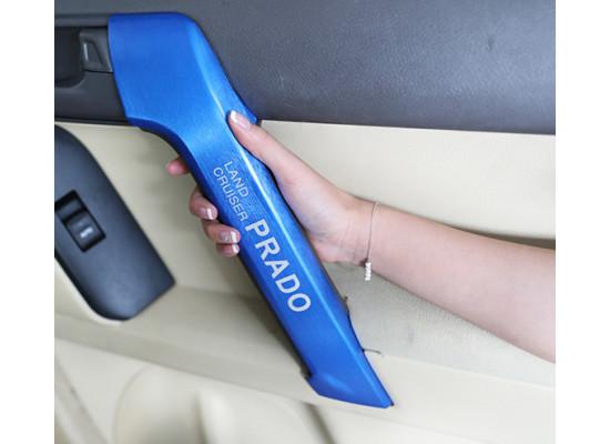 Накладки на внутренние рукоятки дверей для Toyota Land Cruiser Prado 2009-по н.в. (фото)