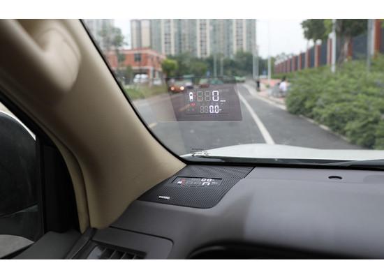 Проектор на лобовое стекло для Toyota Land Cruiser Prado 2009-по н.в (фото)