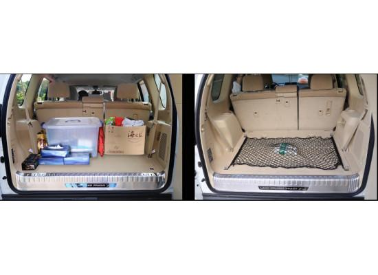 Сетка в багажник для Toyota Land Cruiser Prado 2009-по н.в. (фото)