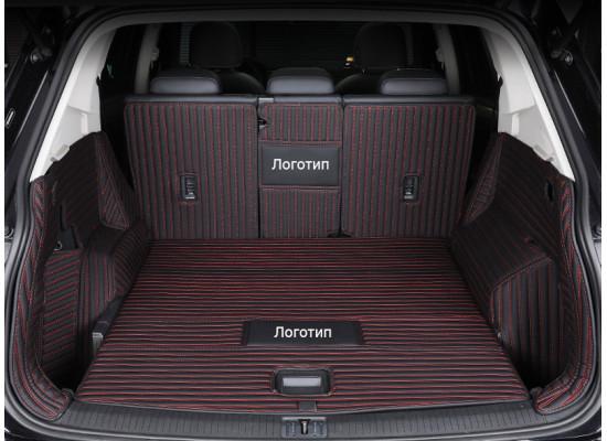 Кожаная обивка багажника для Renault Kadjar 2015-2019