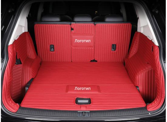 Кожаная обивка багажника для Subaru Legacy 5 Дорестайлинг и Рестайлинг 2009-2014