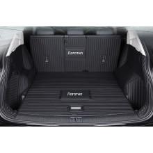 Кожаная обивка багажника для Kia Sportage 4 Дорестайлинг и Рестайлинг 2016-2017