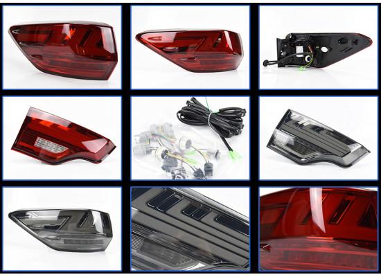 Задние фонари для Toyota Highlander 3 2013-16. Вариант 3